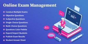 Online Exam Management v2.1 - Education & Results Management