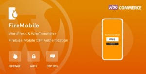 FireMobile WordPress & WooCommerce firebase mobile OTP authentication v1.0.1