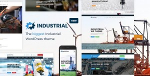 INDUSTRIAL V1.4.9 - FACTORY BUSINESS WORDPRESS THEME
