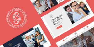 JUSTITIA V1.0.4 - MULTISKIN LAWYER & LEGAL ADVISER WORDPRESS THEME