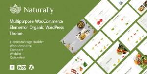 NATURALLY V1.2.3 - ORGANIC FOOD & MARKET WOOCOMMERCE THEME