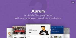 AURUM V3.7.2 - MINIMALIST SHOPPING THEME