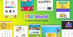 KIDS HEAVEN V2.5 - CHILDREN WORDPRESS THEME