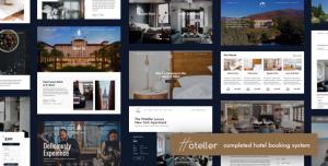 HOTELLER V4.8 - HOTEL BOOKING WORDPRESS