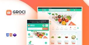 GROCI V2.0.5 - ORGANIC FOOD AND GROCERY MARKET WORDPRESS