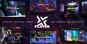 PLAYERX V1.9 - A HIGH-POWERED THEME FOR GAMING AND ESPORTS