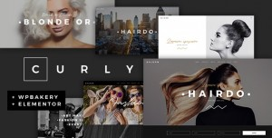CURLY V2.2 - A STYLISH THEME FOR HAIRDRESSERS AND HAIR SALONS