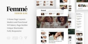 FEMME V1.3.0 - AN ONLINE MAGAZINE & FASHION BLOG WORDPRESS THEME
