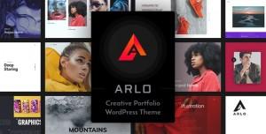 ARLO V2.8 - PORTFOLIO WORDPRESS THEME
