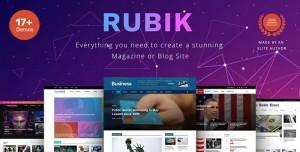 RUBIK V1.9.3 - A PERFECT THEME FOR BLOG MAGAZINE WEBSITE