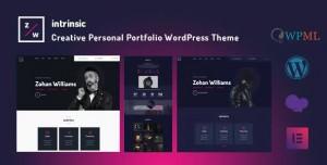 INTRINSIC V1.0.2 - CREATIVE PERSONAL PORTFOLIO THEMES