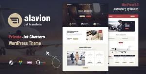 ALAVION V1.1.3 - PRIVATE JET CHARTERS WORDPRESS THEME