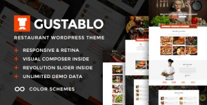 GUSTABLO V1.10 - RESTAURANT & CAFE RESPONSIVE THEME
