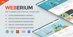 WEBERIUM V1.11 - THEME TAILORED FOR DIGITAL AGENCIES