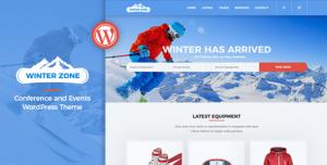 WINTERZONE V1.4 - SKI & WINTER SPORTS WORDPRESS THEME