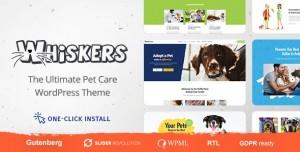 WHISKERS V1.0.6 - PETS STORE | VET CLINIC | ANIMAL ADOPTION