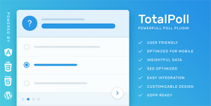 TotalPoll Pro v4.1.6 - WordPress Poll Plugin
