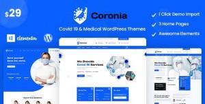 CORONIA V1.0.0 - COVID 19 & MEDICAL WORDPRESS THEMES