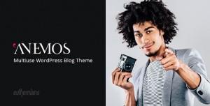 ANEMOS V2.2.3 - A MULTIUSE BLOGGING WORDPRESS THEME