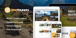 UNITRAVEL V1.2.3 - TRAVEL AGENCY & TOURISM BUREAU WORDPRESS THEME
