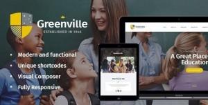 GREENVILLE V1.3.3 - A PRIVATE SCHOOL WORDPRESS THEME