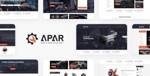 APAR V1.0.1 - AUTO PARTS WORDPRESS SHOP THEME