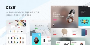 CIZE V1.1.8 - A TOP NOTCH THEME FOR HIGH TECH STORES (RTL SUPPORTED)