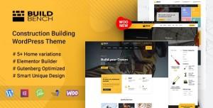 BUILDBENCH V1.8 - CONSTRUCTION BUILDING WORDPRESS THEME