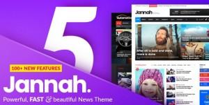 JANNAH NEWS V5.0.7 - NEWSPAPER MAGAZINE NEWS AMP BUDDYPRESS