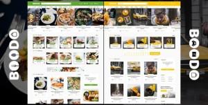 BOODO WP V2.5 - FOOD AND MAGAZINE SHOP WORDPRESS THEME