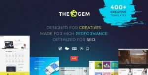 THEGEM 4.5.4 - CREATIVE MULTI-PURPOSE WORDPRESS THEME