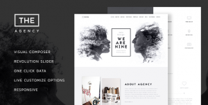 THE AGENCY V1.7 - CREATIVE ONE PAGE AGENCY THEME