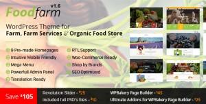 FOODFARM V1.8.6 - WORDPRESS THEME FOR FARM