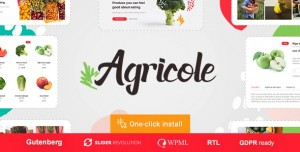 AGRICOLE V1.0.4 - ORGANIC FOOD & AGRICULTURE WORDPRESS THEME