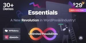 ESSENTIALS V1.0.0 - MULTIPURPOSE WORDPRESS THEME