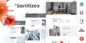 SANITIZEX V1.2 - SANITIZING SERVICES WORDPRESS THEME