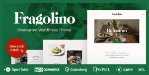 FRAGOLINO V1.0.3 - AN EXQUISITE RESTAURANT WORDPRESS THEME