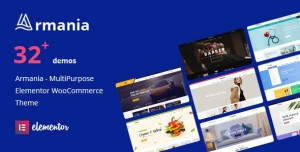 ARMANIA V1.1.4 - MULTIPURPOSE ELEMENTOR WOOCOMMERCE THEME (RTL SUPPORTED)