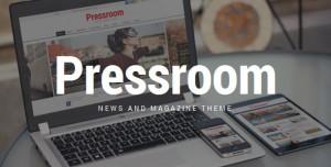 PRESSROOM V4.8 - NEWS AND MAGAZINE WORDPRESS THEME