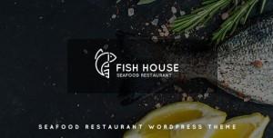 FISH HOUSE V1.2 - A STYLISH SEAFOOD RESTAURANT / CAFE / BAR WORDPRESS THEME