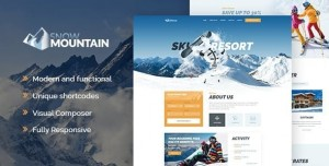 SNOW MOUNTAIN V1.2.3 - SKI RESORT & SNOWBOARD SCHOOL WORDPRESS THEME