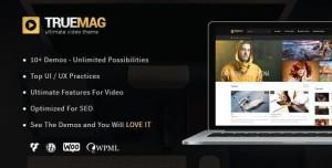 TRUE MAG V4.3.5 - WORDPRESS THEME FOR VIDEO AND MAGAZINE