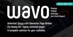 WAVO V1.1.2 - CREATIVE PORTFOLIO & AGENCY THEME