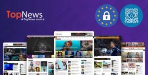 TOPNEWS V3.3.5 - NEWS MAGAZINE NEWSPAPER BLOG VIRAL & BUZZ WORDPRESS THEME