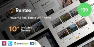 RENTEX V1.5.8 - REAL ESTATE WORDPRESS THEME