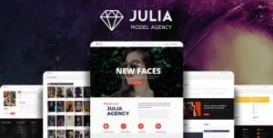 JULIA V2.0.7 - TALENT MANAGEMENT WORDPRESS THEME