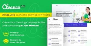 CLEANCO V3.2.0 - CLEANING COMPANY WORDPRESS THEME