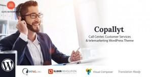 COPALLYT V3.4 - CALL CENTER & TELEMARKETING WORDPRESS THEME