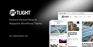SPOTLIGHT V1.6.3 - FEATURE-PACKED NEWS & MAGAZINE THEME