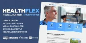 HEALTHFLEX V1.6.7 - MEDICAL HEALTH WORDPRESS THEME